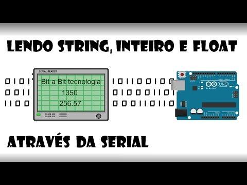 Arduino - Lendo String, Inteiro E Float Através Da Serial