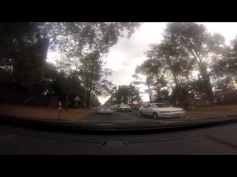 Driving through the streets of Johannesburg in real time video 2