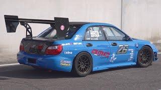 TWIN TURBO Subaru Impreza WRX STI first shakedown! - Weirdest sounding EJ20 ever?