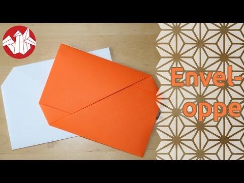 origami enveloppe envelope senbazuru youtube. Black Bedroom Furniture Sets. Home Design Ideas