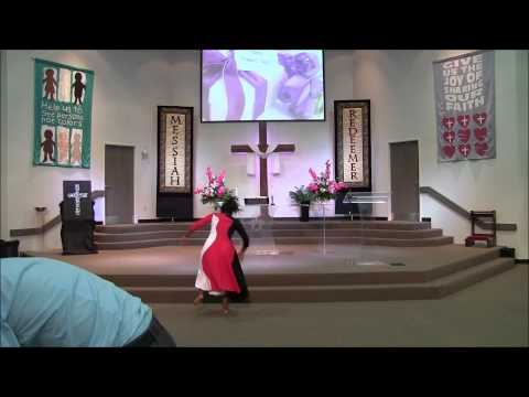 God Blocked it Praise dance Chantel
