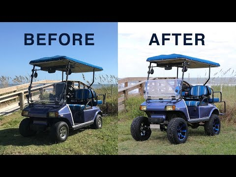 Club Car DS All Sports Long Travel Lift Kit Installation