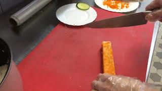 Как готовить роллы Калифорния(Видео-рецепт приготовления калифорнийских роллов., 2015-06-25T12:12:46.000Z)