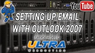 Configuring Outlook 2007 for Email - Add Hosting Mailbox