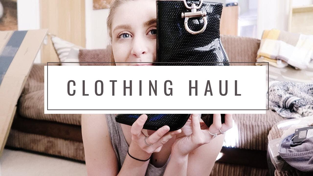 PRIMARK & DEPOP TRY-ON HAUL // SPRING OUTFIT IDEAS 2019 ft. a very grumpy teething 10 month old 6