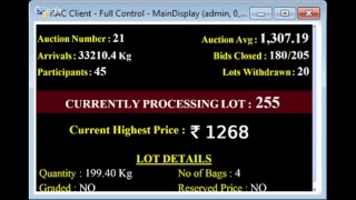 SPICES BOARD E-AUCTION PUTTADY GREENHOUSE 17.12.2018 LIVE