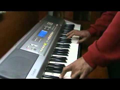 mera dil ye pukare aaja .. on piano by mmv - film nagin