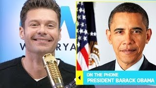 president barack obama on shopping at the gap i interview i on air with ryan seacrest