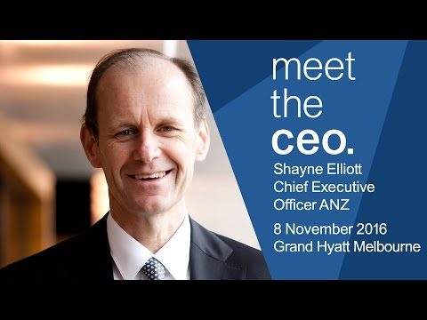 Meet The CEO - Shayne Elliott, CEO of ANZ