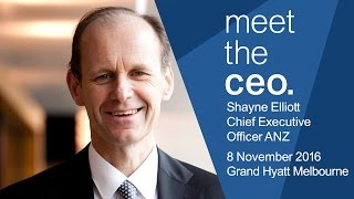 Meet The CEO - Shayne Elliott, CEO of ANZ