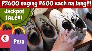 SOBRANG SAYA!!! Jackpot SALE!!! Branded SHOES at mga DAMIT naka-SUPER SALE!!!