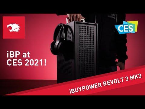 iBUYPOWER Revolt 3 Mk3 Walk Through CES 2021 Small Form Factor Gaming PC
