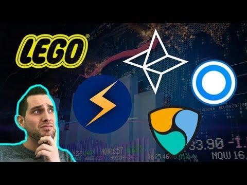 $STORM 🚀 Bitcoin LEGO Art   CoinMarketCap Scam? Nebulas   Blockport   $NAS $BPT $NEM $XLM