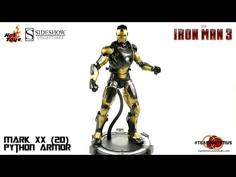 "Video Review of the Hot Toys Iron Man 3: Mark XX (20) ""Python Armor"""