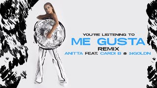 Anitta - Me Gusta (Remix) (Feat. Cardi B & 24kGoldn) (Audio)