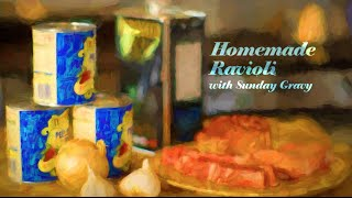 Nonna's Ravioli With Sunday Gravy Recipe