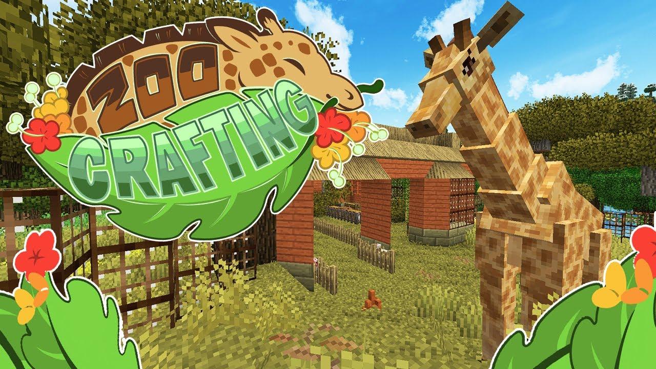 An Explosive Return Home?! 🦒 Zoo Crafting: Wild Adventures! • #1