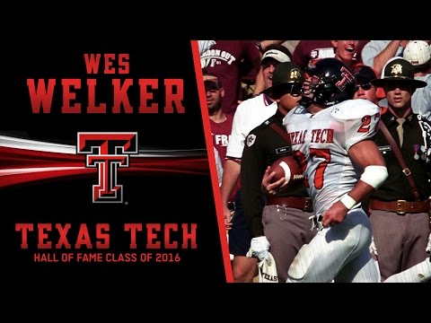 Texas Tech Hall of Fame 2016: Wes Welker