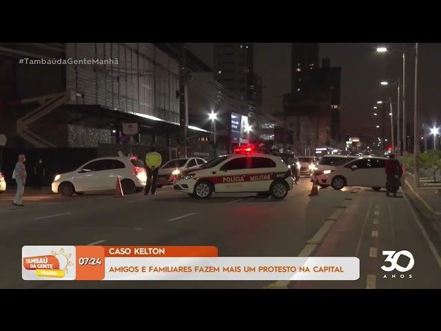 Caso Kelton: amigos e familiares fazem mais um protesto na Capital - Tambaú da Gente Manhã