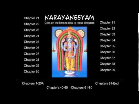 Narayaneeyam Chapters 21-39