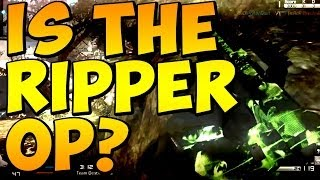 "COD Ghosts - Is The ""RIPPER"" OP? SMG / AR - RIPPER Gameplay / Footage (Call of Duty)"