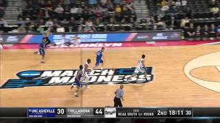 UNC Asheville vs Villanova: Ahmad Thomas dunk