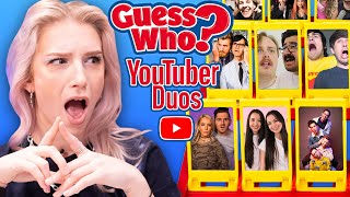 Guess Who: YouTuber Duos Edition!