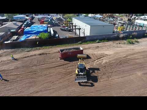 Culver Equipment yard work