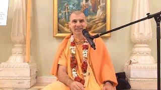 Believe in yourself - HH Bhakti Rasayana Sagar Swami - 26 September 2018