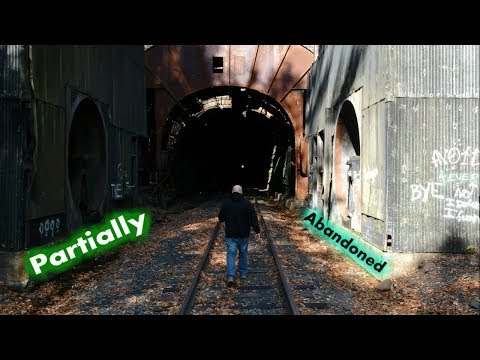 Partially Abandoned Train Tunnel - Mahanoy Tunnel - Built In 1800s
