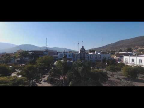 Aerial: Jocotepec, Jalisco, Mexico