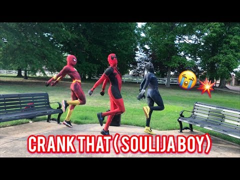 """Ghetto Avengers""  Soulja Boy Tell'em - Crank That 