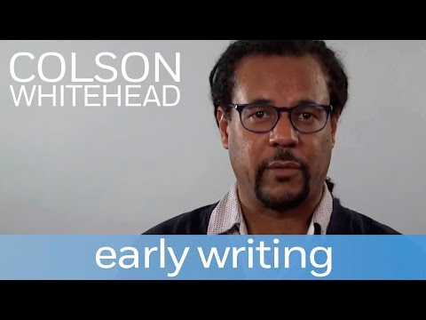 Colson Whitehead on his early writing | Author Shorts