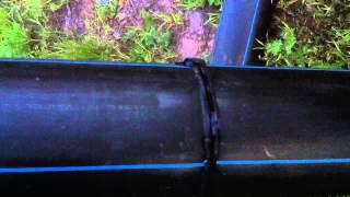 Пайка ПНД труб(Полиэтилен низкого давления, пайка обычным сантехническим паяльником с снятыми насадками., 2015-05-26T05:52:59.000Z)