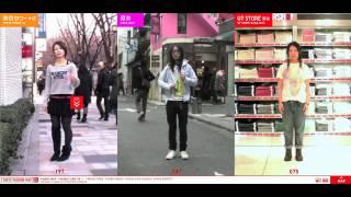 Uniqlo - Tokyo Fashion Map