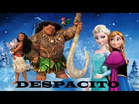 Despacito  Justin Bieber  Moana & Frozen Disney Mashup Mix