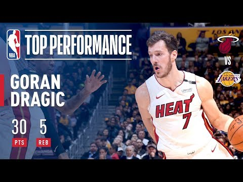 Dragic Brings The Heat To The Staples Center!