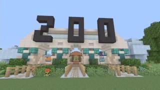 Minecraft zoo on Xbox