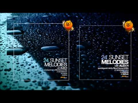 Sunset Melodies With Alex H 024 Guest Mix Blood Groove & Kikis [December 27 2014]