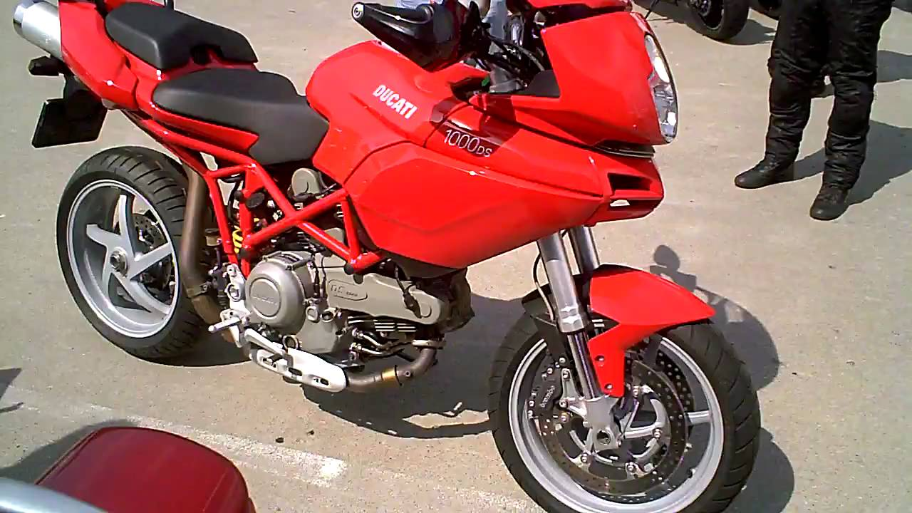 2005 DUCATI Multistrada 1000 DS engine  clutch sounds