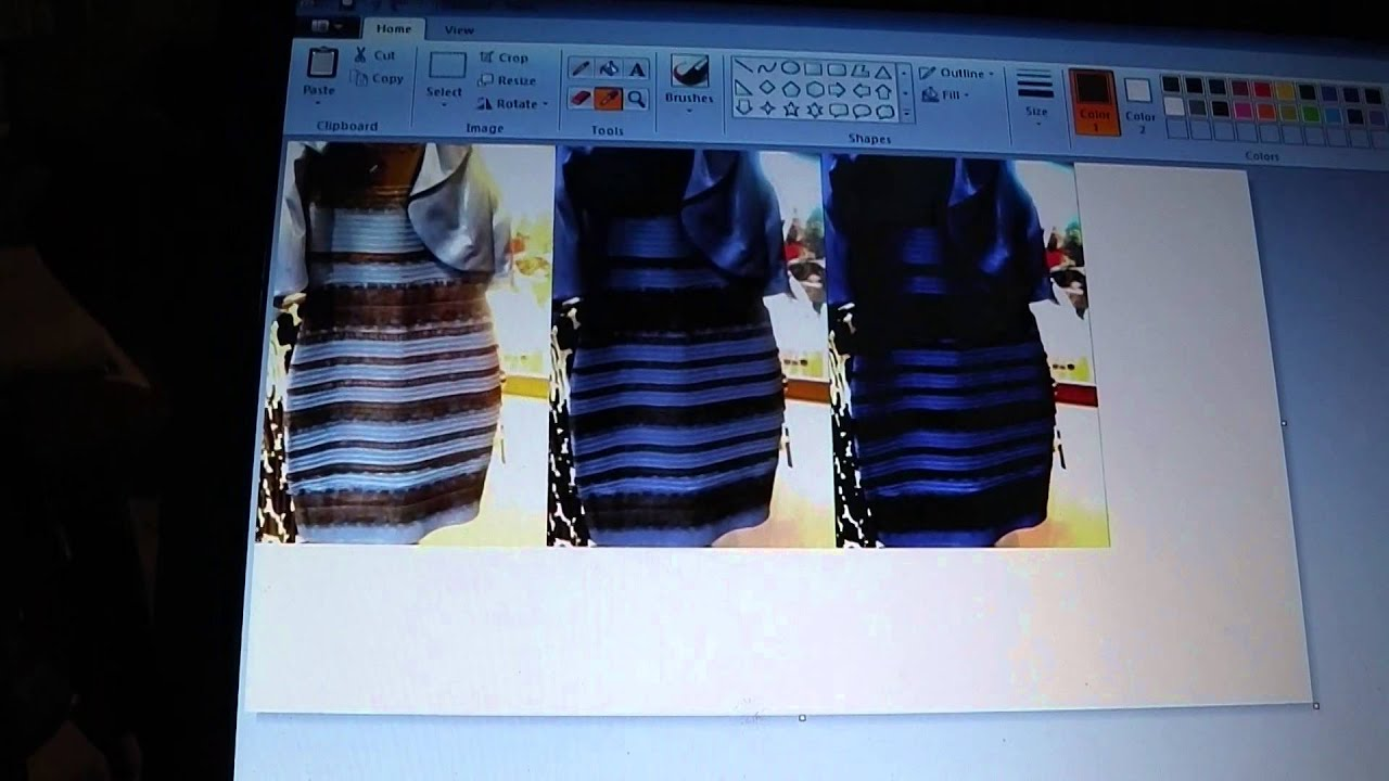 The dress controversy - Blue Black Dress Or White Gold Dress Controversy Explained
