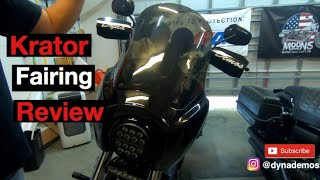 Krator Fairing review 1500+ Miles Later