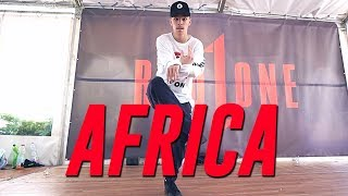 """They. """"AFRICA"""" Choreography by Bence Kalmar"""