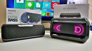 LG XBOOM GO PK5 vs SONY SRS XB32 - Ultimate Bluetooth Speaker Comparison