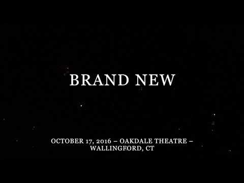 Brand New - Live in Wallingford, CT - 10/17/16 - Full Show