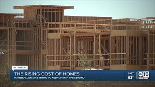 Valley impacted as rising material costs making it impossible for builders to solve housing shortage