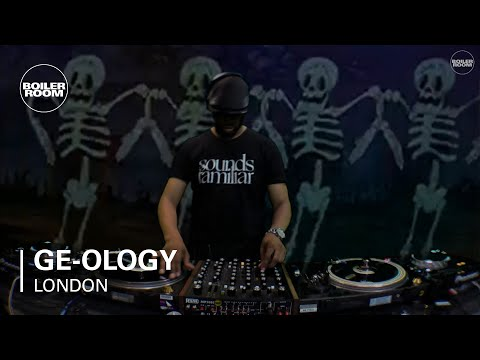 Ge-ology Boiler Room London Studio DJ Set