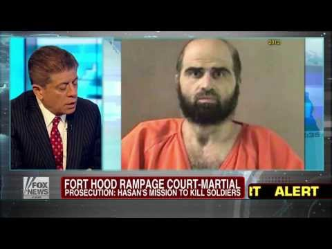 Fort Hood : Islamic Terrorist Nidal Hasan says I am the shooter and Soldier of Allah (Aug 07, 2013)