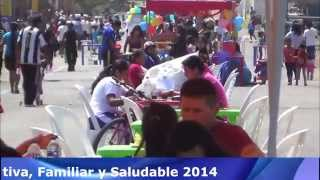Ciclovia Recreativa Familiar y Saludable Hualmay 2014