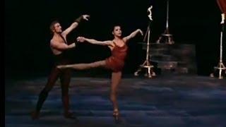 Ekaterina Maximova and Vladimir Vasiliev - Spartacus Adagio (in color)